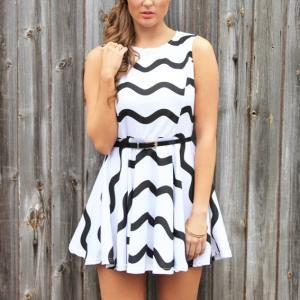 Fashion Stripe Dress